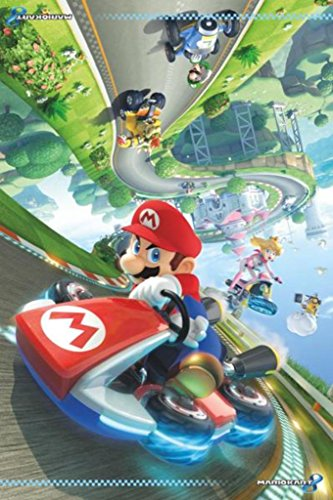 o Kart 8 Video Gaming Poster 24x36 inch ()