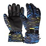 Best Fashion Shop Climbing Gloves - WILDSNOW Winter Fashion Outdoor Waterproof Antiskid Warm Ski Review