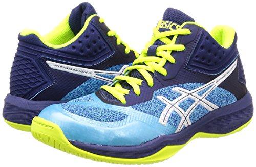 Pour Ballistic Mt Bleu Asics Ff Netburner Femme Chaussures De Volleyball wFII06q