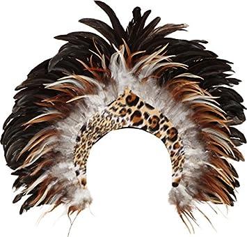 Feder Kopfschmuck Dschungel Sexy Tanzerin Karneval Fasching Amazon