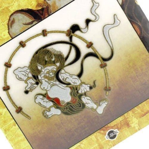 Japanese Art Sticker/Decal for Cellphone Premium Accessories-# Ruijin (Thunder Storm God)