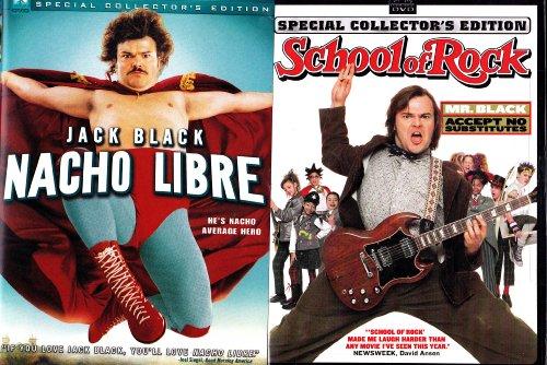 School of Rock , Nacho Libre : Jack Black 2 Pack