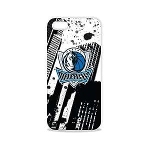 Tribeca Gear FVA7569 Hard Shell Case for iPhone 5 - Dallas Mavericks - 1 Pack - Retail Packaging - Black