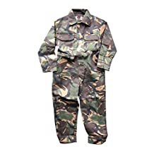 WWK / WorkWear King Boy's Kids Childrens Boilersuit Coveralls Overalls