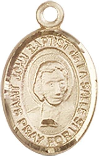 John Baptist de La Salle Medal 14kt Gold St