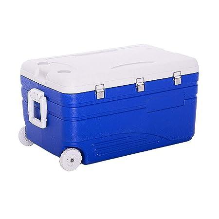 Wyyggnb Cool Box, 130l Portátil Nevera Congelador de Coche y ...