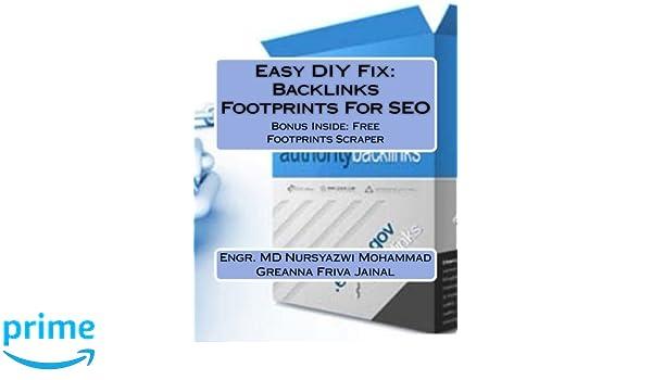 Easy DIY Fix: Backlinks Footprints For SEO: Backlinks
