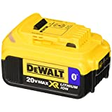 DEWALT DCB204BT 20V MAX 4Ah Compact Battery with Blue Tooth