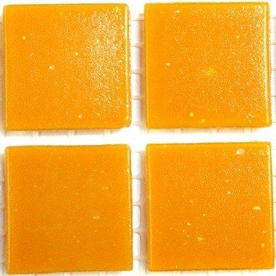 75 Matte Orange Vitreous Glass Mosaic 20mm Tiles A92 Hobby Island