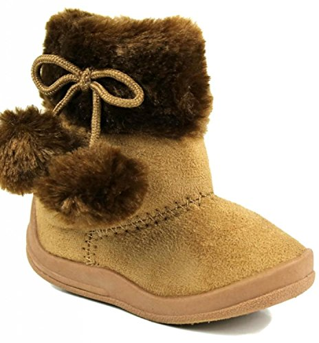 Kali Footwear Girls Bany Pom Pom Boots(8 M US Toddler, for sale  Delivered anywhere in USA