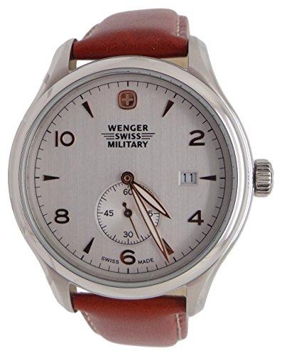 Wenger-Swiss-Army-Military-Silver-Dial-Watch-79301C