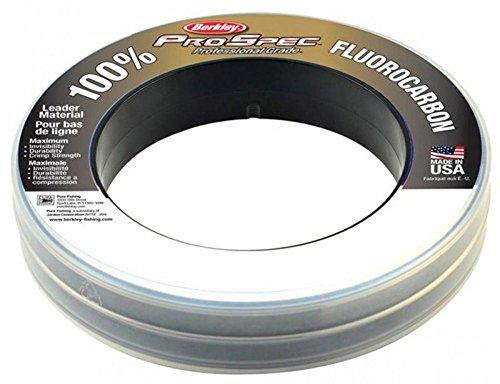 Berkley PRO Spec Prospec Fluorocarbon Spool Line 50lb 25yd Clear NEW