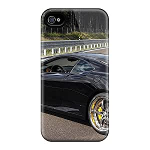 New Arrival Beautiful Girl Car For Iphone 4/4s Case Cover