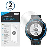 BoxWave Garmin Forerunner 620 ClearTouch Crystal (2-Pack) Screen Protector - Ultra Crystal Film Skin to Shield Against Scratches for Garmin Forerunner 620