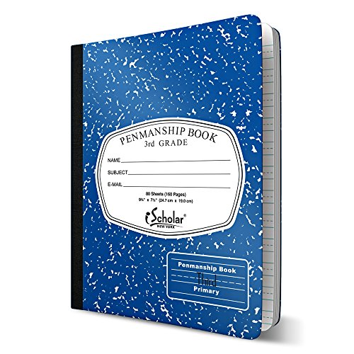 ischolar-grade-3-primary-composition-book-75-x-975-inches-80-sheets-skip-line-ruling-blue-marble-100