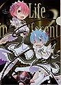Re:ゼロから始める異世界生活 Memory Snow × SEGA クリアファイル Vol.1 ラム & レム