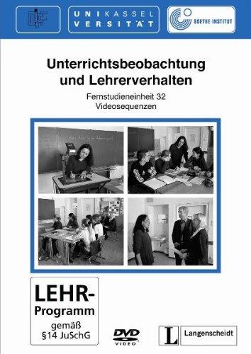 Download Unterrichtsbeobachtung Und Lerherverhalten DVD (German Edition) pdf