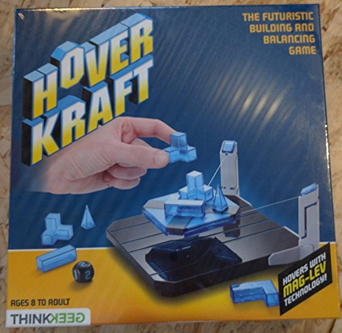 HoverKraft Levitating Construction Challenge - A Futuristic Building and Balancing Game by ThinkGeek