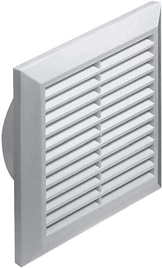 Lüftungsgitter Abschlussgitter Insektenschutz rund Ø 100 mm weiß ABS Gitter