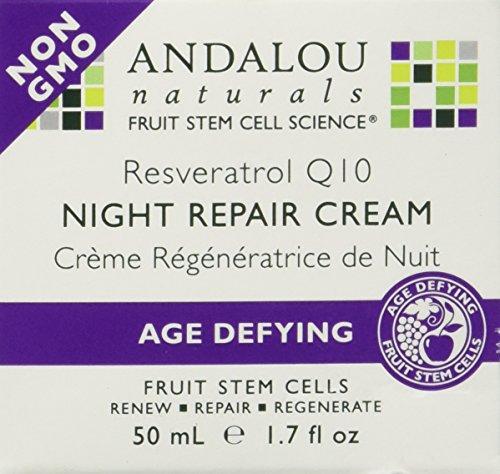 Age Defying Resveratrol Q10 Night Repair Cream 1.70 Ounces