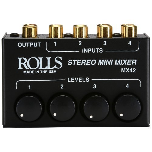 Rolls MX42 Stereo Mini Mixer