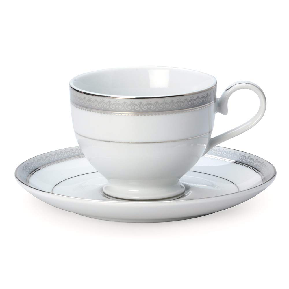 Service for 8 Mikasa Love Story 40-Piece Dinnerware Set