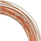 Solid Copper Wire 22 Gauge Round Dead Soft (1 Oz. / 30 Ft. ) by Beadaholique