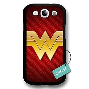 Customize Cartoon Black Superwoman Wonder Woman For Case Iphone 6Plus 5.5inch Cover - Black 6