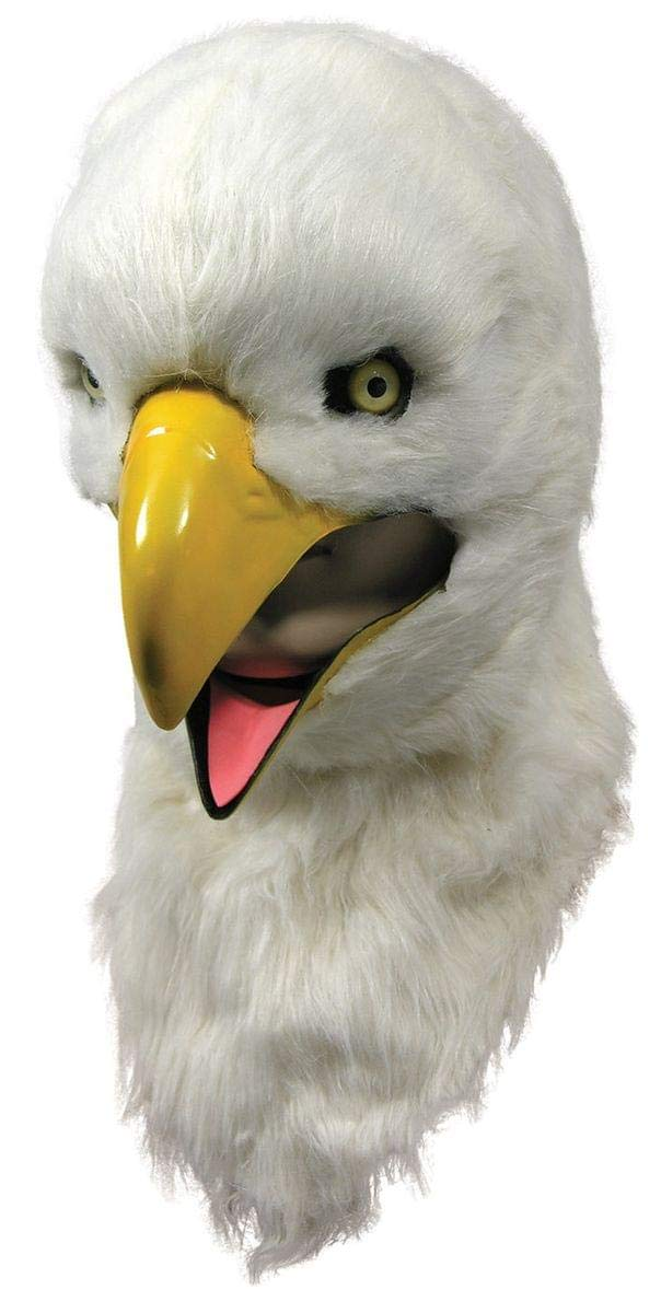(Eagle) - Moving Mouth Adult Mask, Eagle