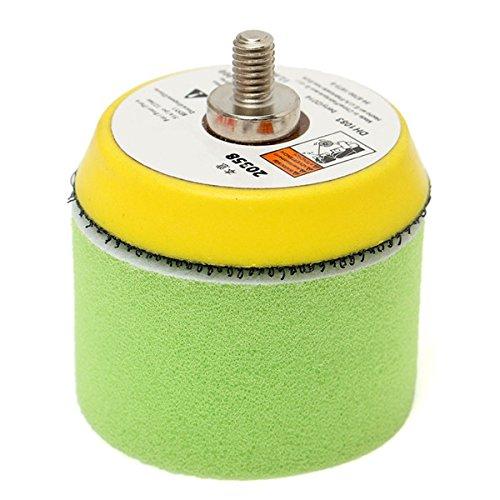 Letbo New 16pcs 2 Inch 50mm Polishing Buffing Pad Kit for Car Polisher