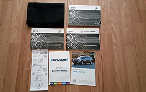 2016 buick enclave owners manual buick amazon com books rh amazon com buick enclave owners manual 2011 buick enclave owners manual online