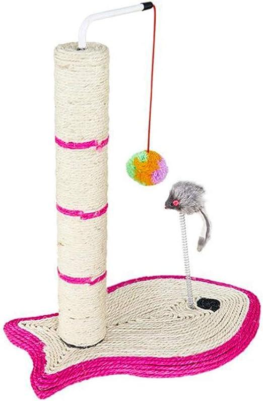 CHENGXINGF Gatos de Mascotas Gatos de Juguete Marco de Escalada Gatos de Madera de sisal árbol