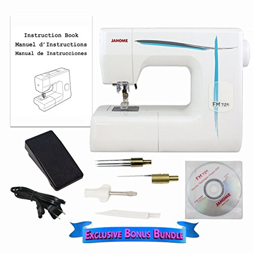 Janome FM725 Needle Felting Machine with Exclusive Bonus Bundle by Janome