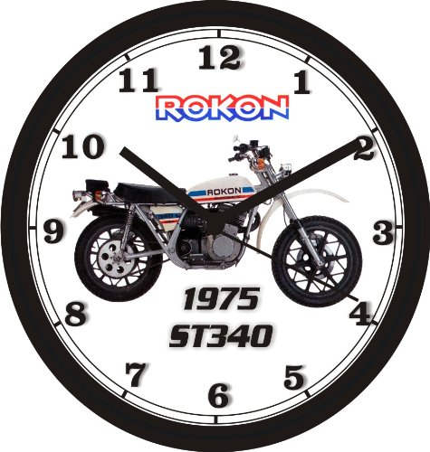 Used, 1975 ROKON ST340 MOTORCYCLE WALL CLOCK-Free USA Ship for sale  Delivered anywhere in USA