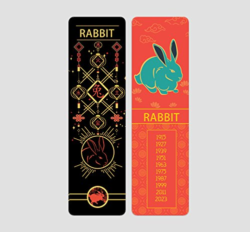 (Chinese Zodiac Bookmark by Buttered Kat (Rabbit))
