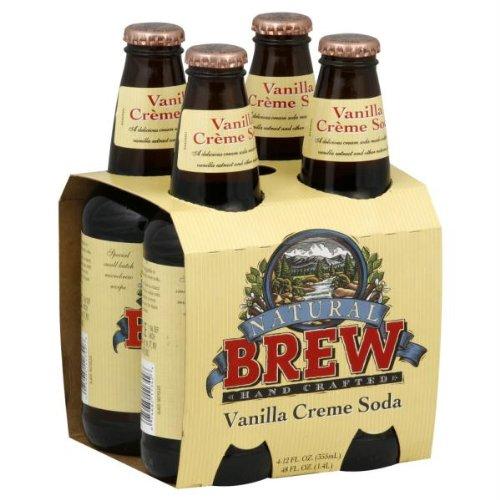 Natural Brew Soda Vanilla Cream, 48 fl oz