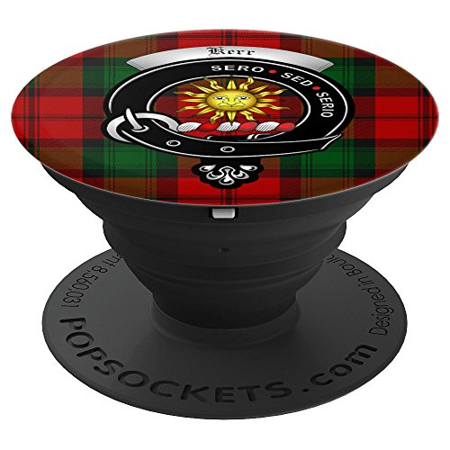 PopSockets Kerr Clan Badge and Tartan - PopSockets Grip and Stand for Phones and Tablets price tips cheap