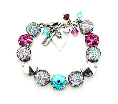 i-love-confetti-12mm-bracelet-made-with-swarovski-elements-pick-your-finish-karnas-design-studio