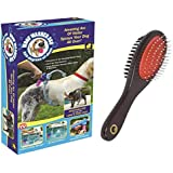 2 Sided Pet Brush and Woof Washer 360 - Perfect 4 Grooming Your Dog - Big