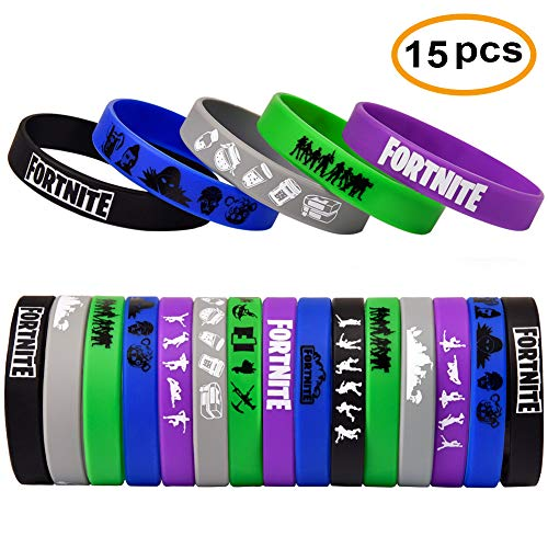Gaming Party Supplies Bracelet For Kids Birthday Party Supplies Favors.Max Size 7.9inch -15 Pack