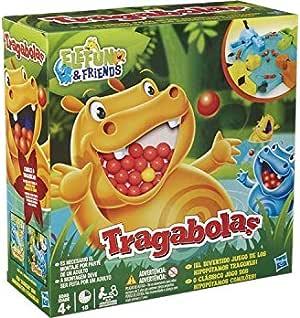 Hasbro Gaming - Tragabolas, juego de mesa (Hasbro 98936175) (versión española/portuguesa): Amazon.es: Juguetes y juegos