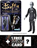 The Gentleman: Funko ReAction x Buffy The Vampire Slayer Action Figure + 1 FREE Official Buffy the Vampire Slayer Trading Card Bundle (039592)