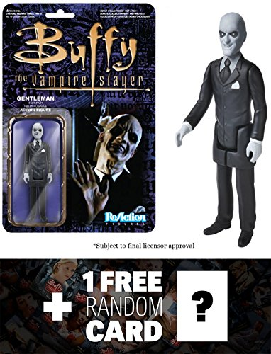 The Gentleman: Funko ReAction x Buffy The Vampire Slayer Action Figure  + One Collectible Card