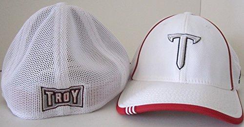 カーフ昨日火傷NCAA Officially Licensed Troy Trojans刺繍ロゴmesh-back野球帽子