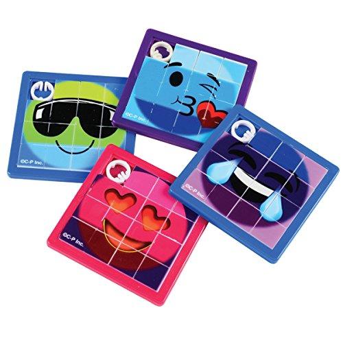 U.S. TOY COMPANY INC. Rainbow Emoji Slide Puzzles ()