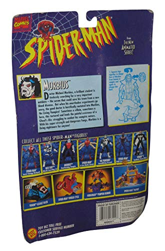 Toy Biz Spider-Man Animated Series Morbius with Transforming Vampire Action