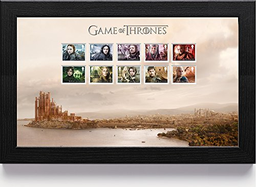 "Game Of Thrones N3115""1St Class"" Framed Stamp"