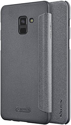 Samsung Galaxy A8 Plus 2018 Case MYLB Ultra Slim PU Cuero Funda Flip Cover para Samsung Galaxy A8 Plus 2018 Smartphone: Amazon.es: Electrónica