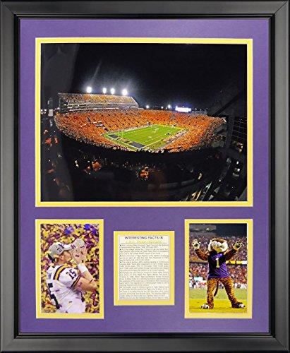 Stadium Lsu Tigers Photo - Legends Never Die LSU Tiger Stadium Framed Photo Collage, 16