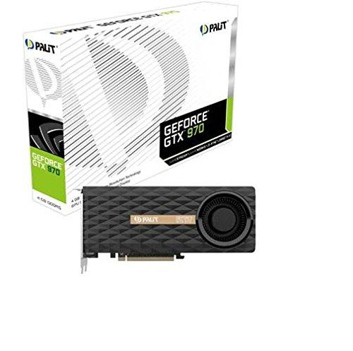 Palit GTX970 Grafikkarte (4GB GDDR5, PCI Express 3.0 x16, DVI, Mini-HDMI, 3x Mini DisplayPort)